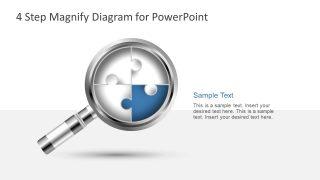 Segment of Magnify Puzzle Diagram