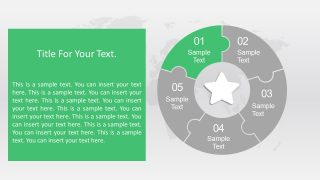 Two Content Text Placeholder Layout Template
