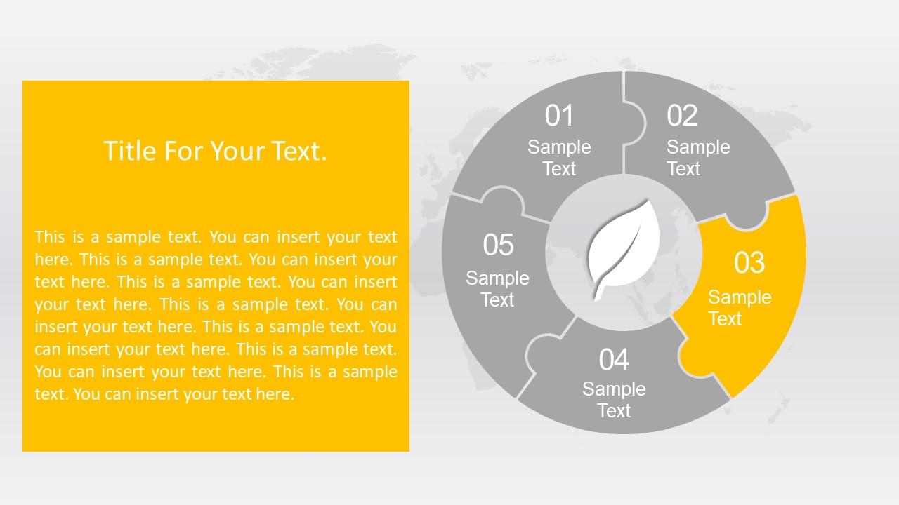 Leaf Infographic Representing Segment