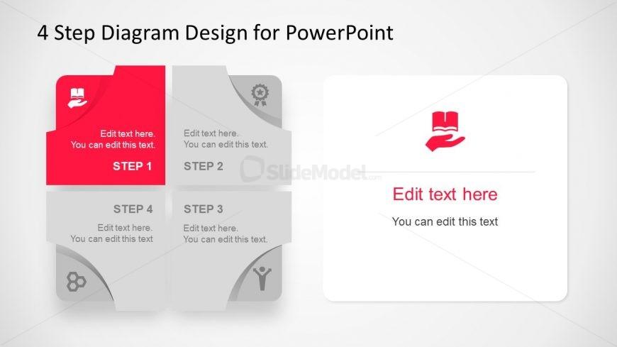 Creative Diagram Template Hand Book