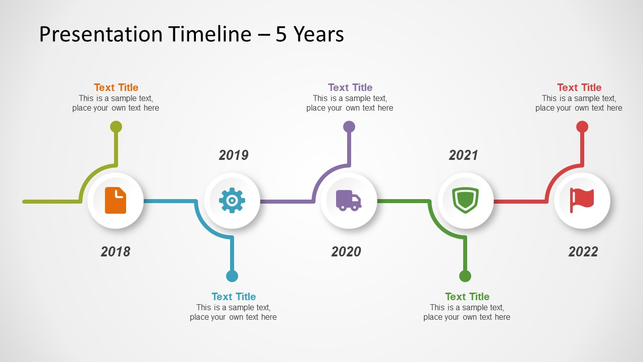 free timeline template for powerpoint - slidemodel