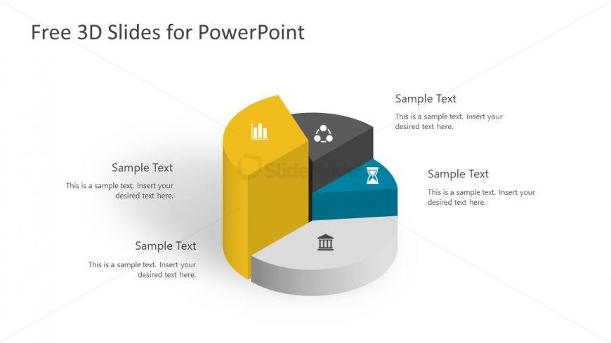 3D Pie Chart in PowerPoint