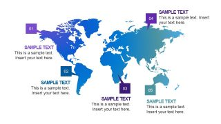 World Map Slide Presentation Free