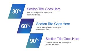 Three Segment Business Presentation