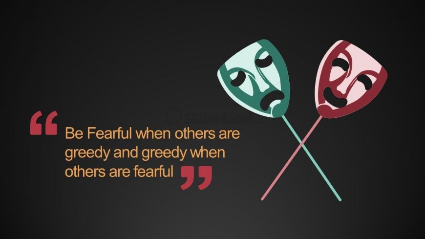 Fear and Greed Quote PPT