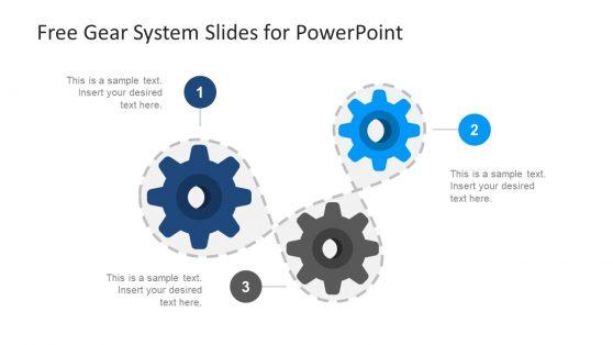 Three Segment Slide of Gear System