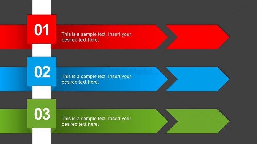 Three Step Presentation Chevron