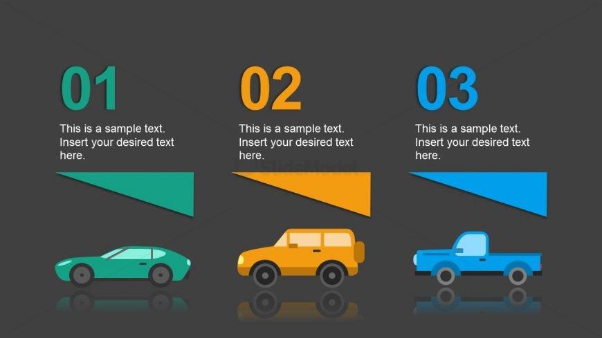 Slide of Car Silhouette for Comparison