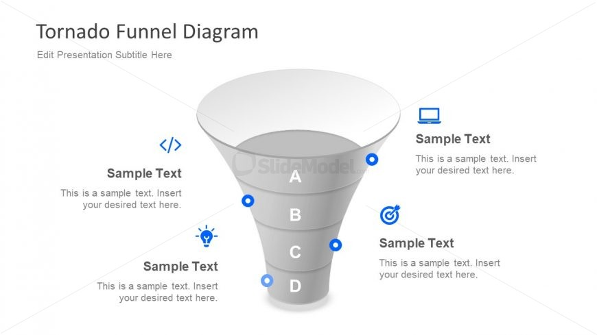 Free Funnel Diagram Tornado Slidemodel