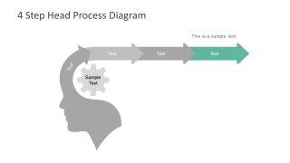 Free PowerPoint Diagram Chervon