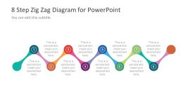 Infographic Process Flow Diagram