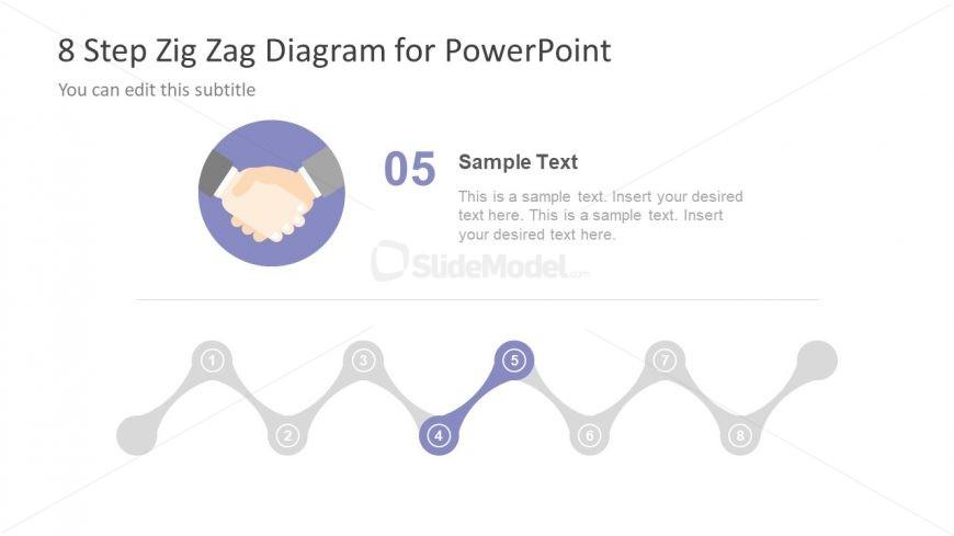 Handshake Clipart Zig Zag Diagram