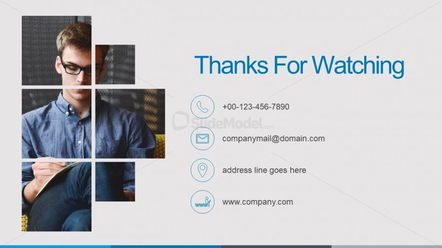 Infographic Contact Presentation Design