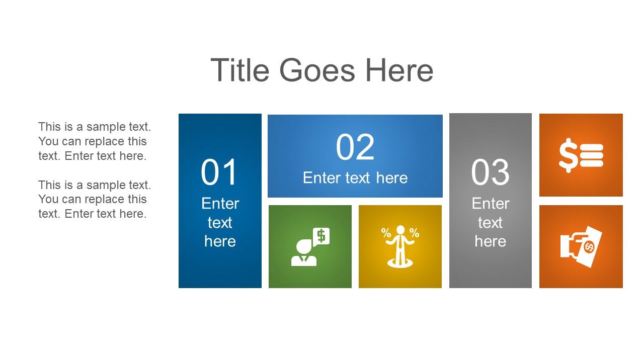 Infographic Template Design 3 Segments