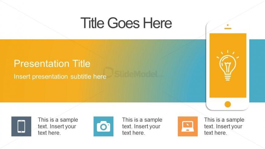 Slideshow of Mobile Application