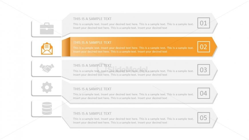 Infographic PowerPoint 3D Arrows