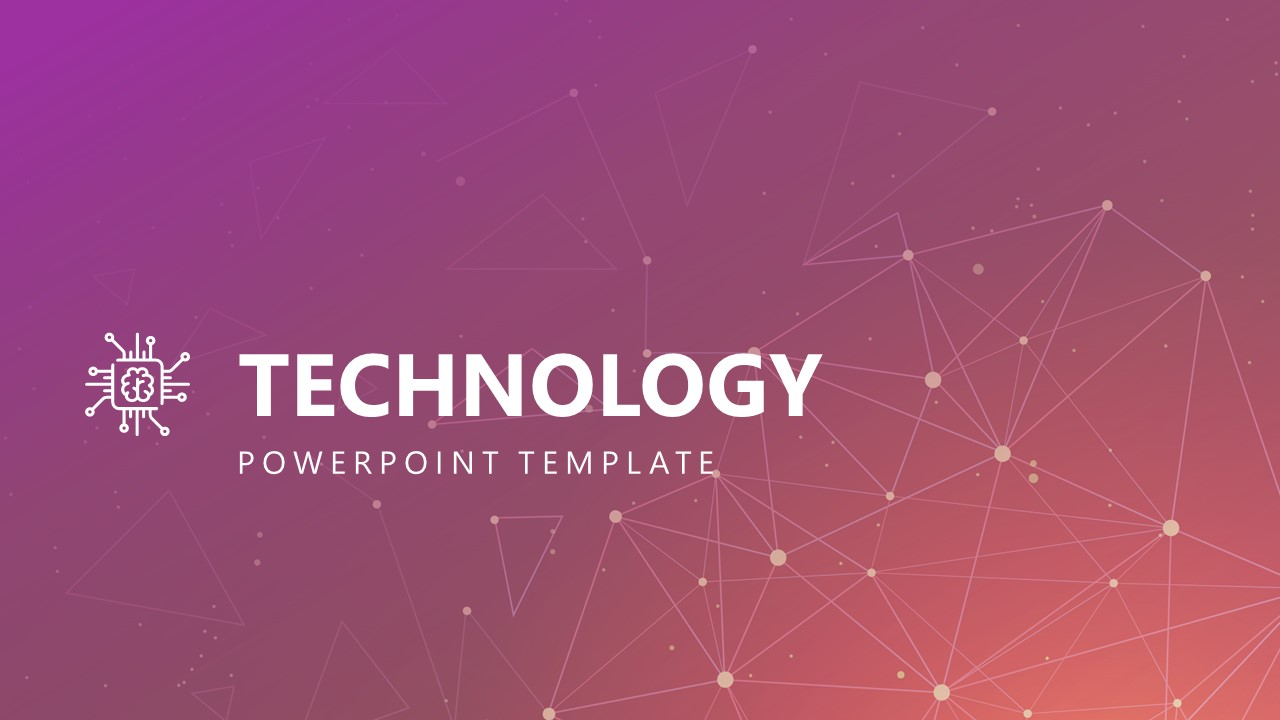Free Modern Technology PowerPoint Template