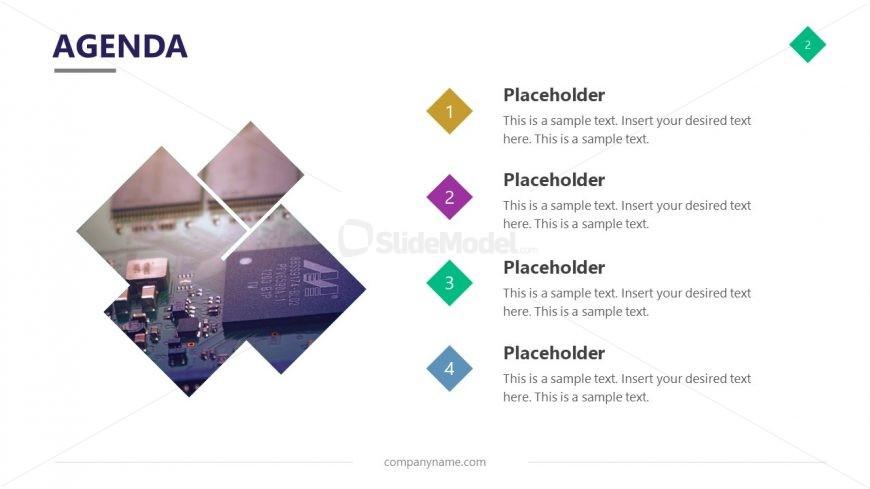 Agenda Slide Cutout Image