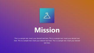 Mission Concept Slide Design