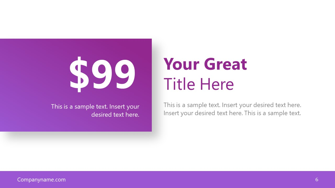 Infographic Finances PowerPoint Layout