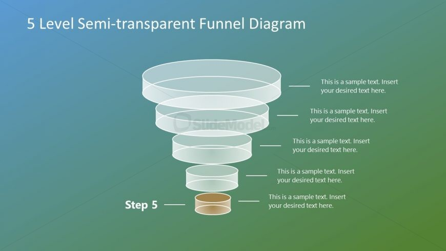 Free Template of 5 Level Funnel