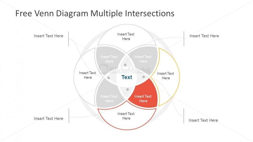 Slide of Creative 4 Segments Flow