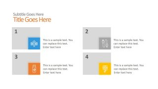 Animations 4 Steps PowerPoint