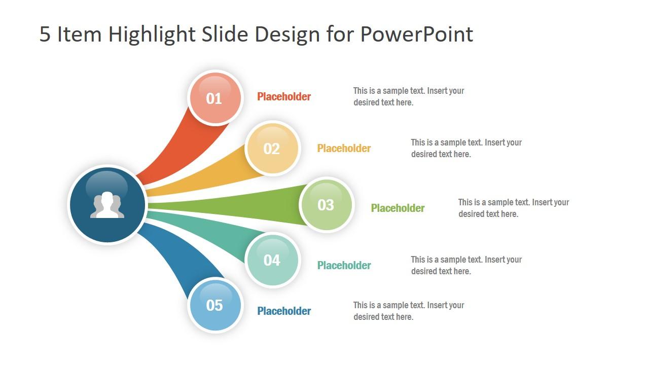 free creative agenda slide presentation template