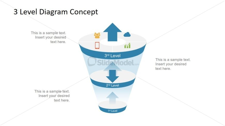 PPT Free Funnel Diagram Template