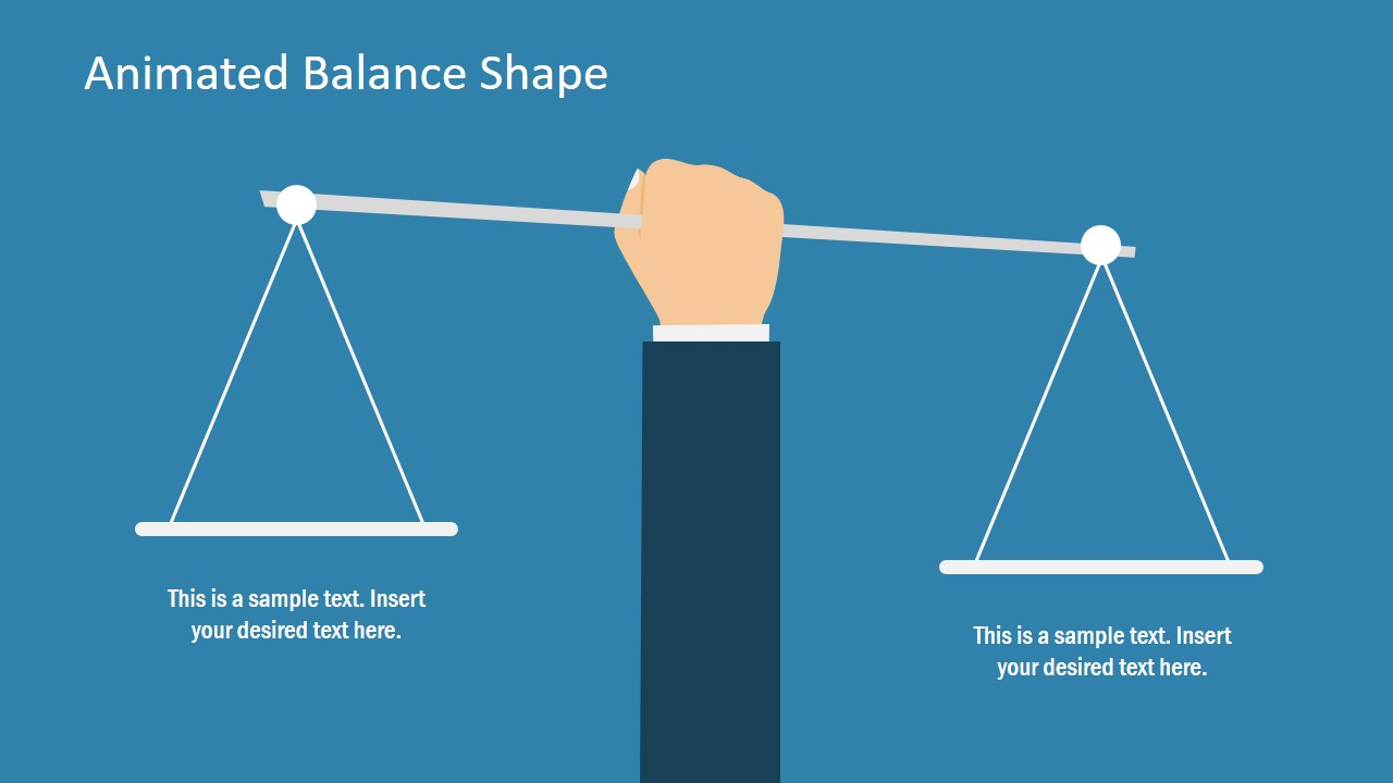 Free Balance Shape for PowerPoint  SlideModel