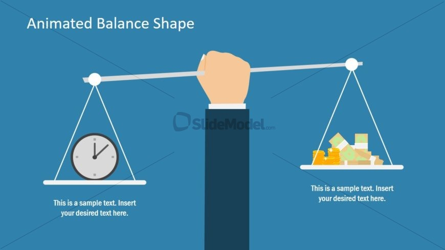 Clock and Money Clipart PPT