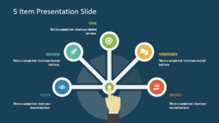 Infographic Presentation of Semi Circle