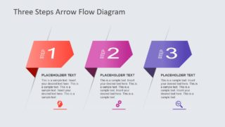 Angle Arrows PowerPoint Diagram