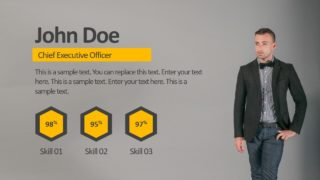 User Profile Introduction Template