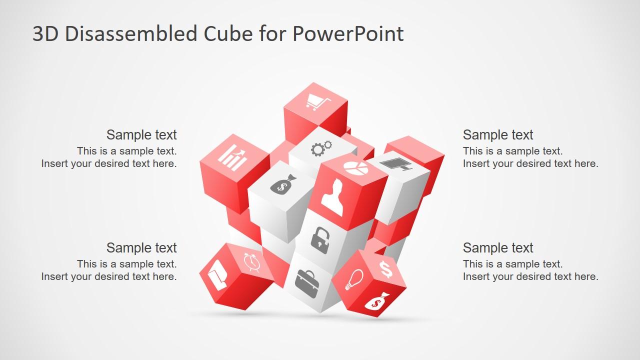 Rubik Cube Presentation Style