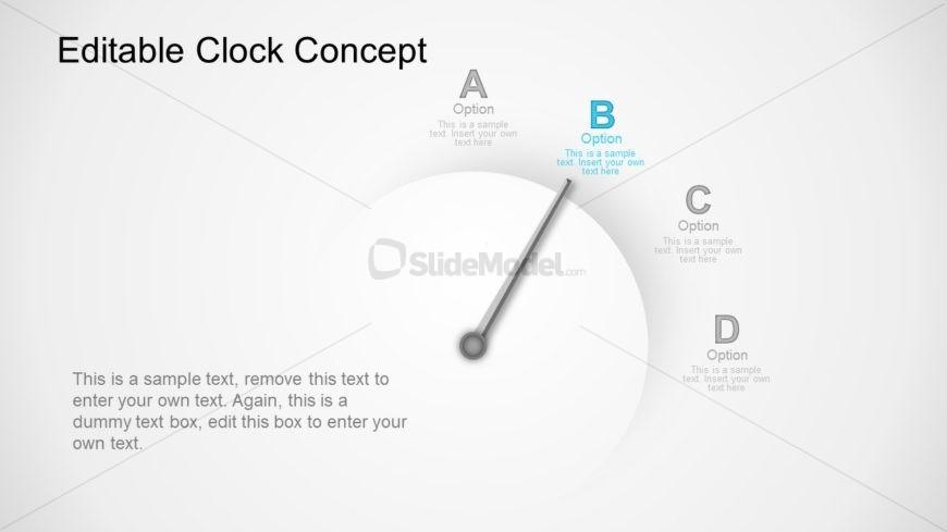 Slide of 4 Steps Analog
