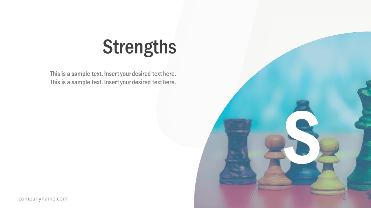 Free Business SWOT Analysis Strengths