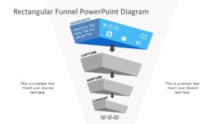 PowerPoint Sales Funnel Diagram