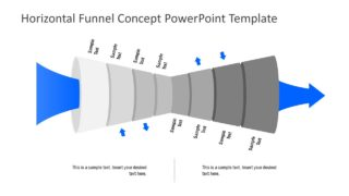 Two Way Funnel Diagram Template
