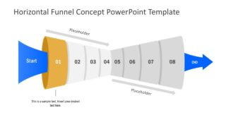 Free Slide of Funnel Diagram Template