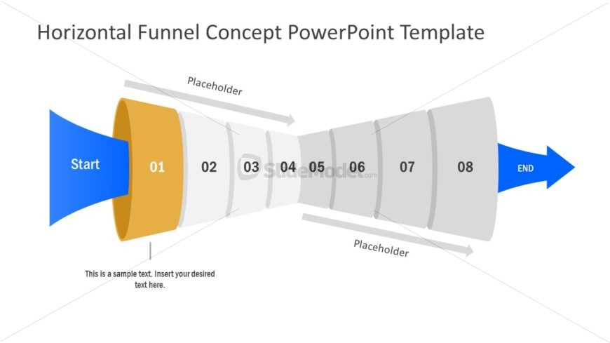 Free Slide of Funnel Diagram Template