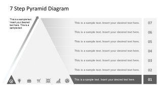 Level 1 Pyramid Diagram Template
