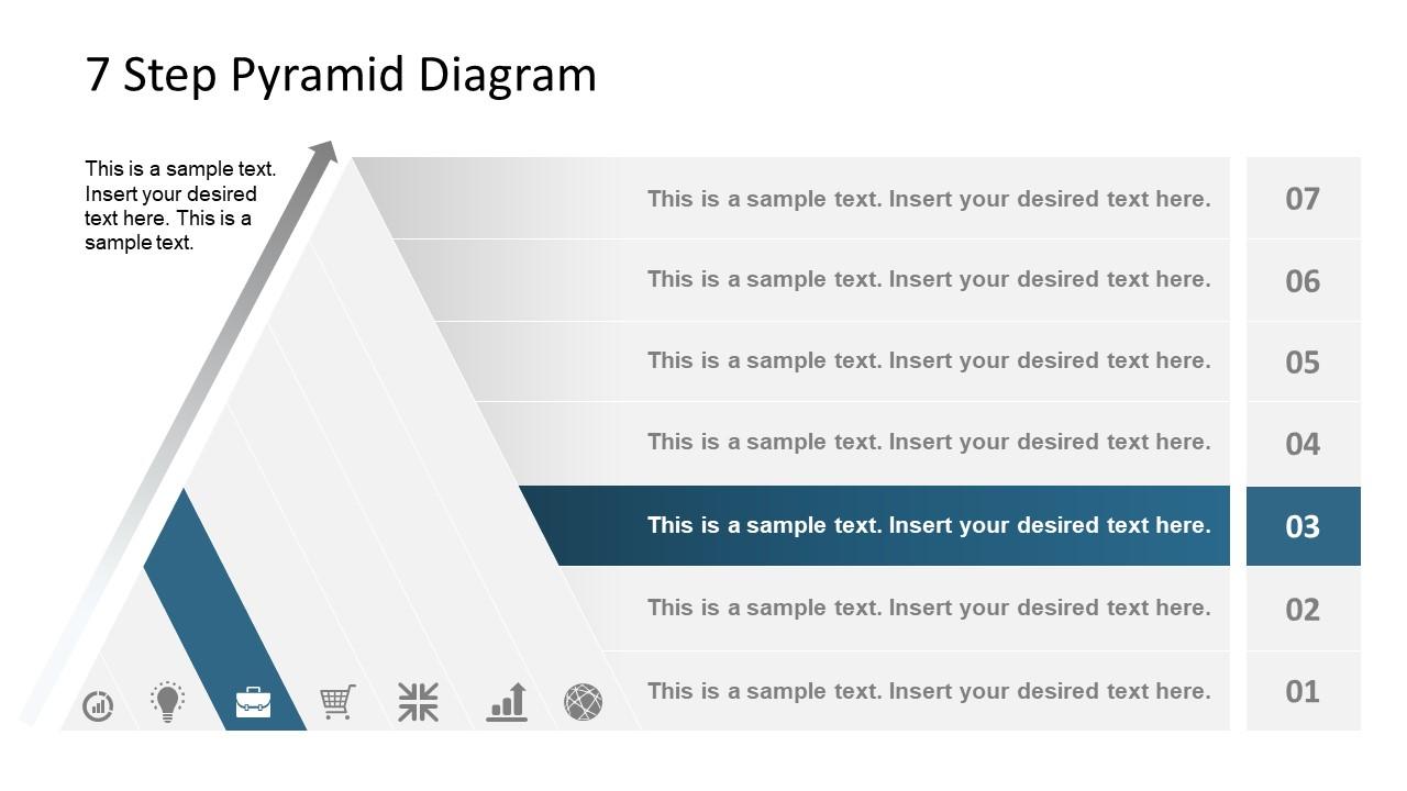 Level 3 Pyramid Diagram Template