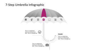 Business PowerPoint Umbrella Diagram