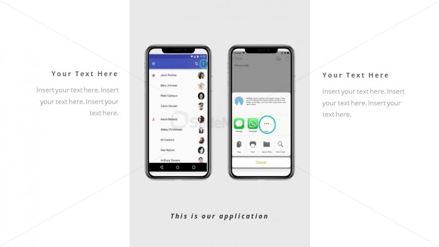 Corporate Portfolio Mobile Demo PowerPoint