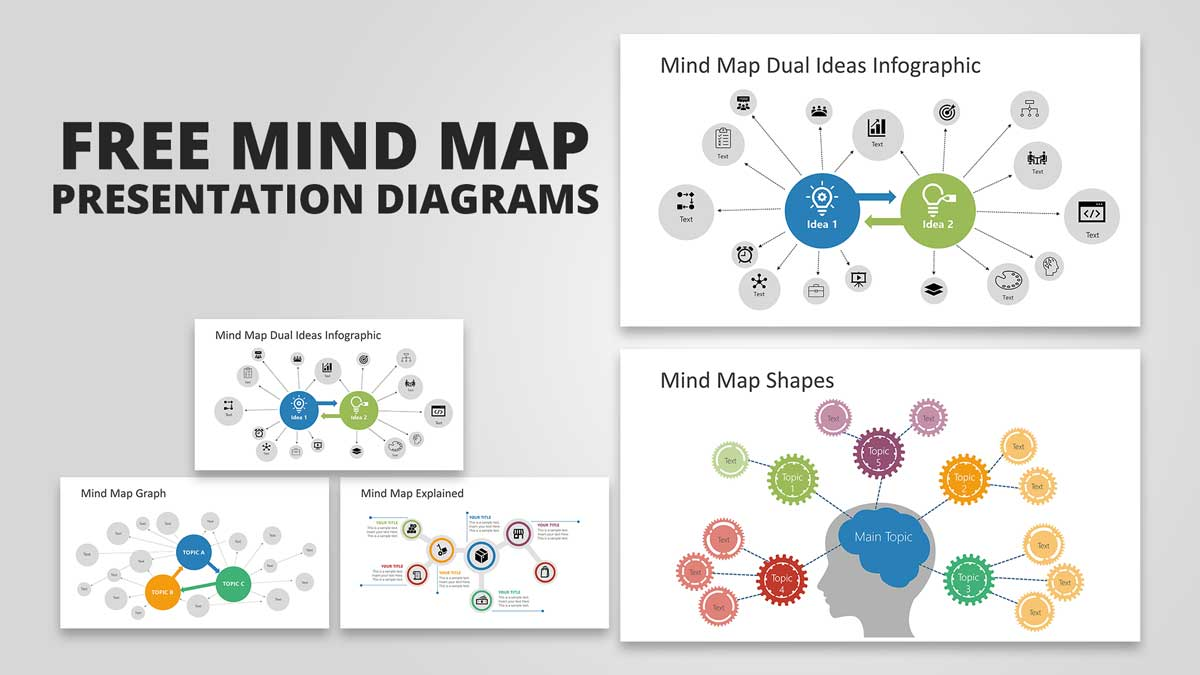 Slides of Free Mind Mapping Tools