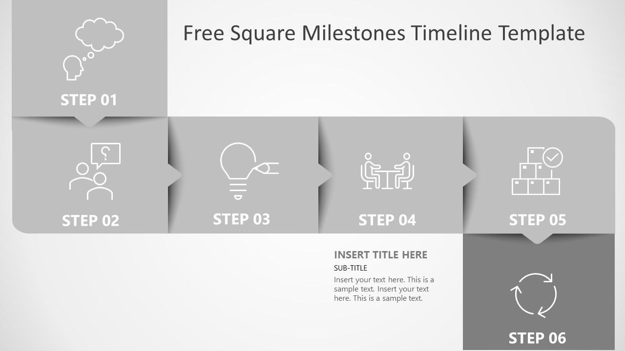 Planning Timeline 6 Milestones