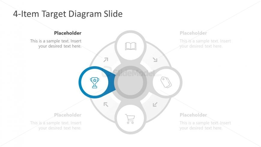 Editable Target PowerPoint Diagram