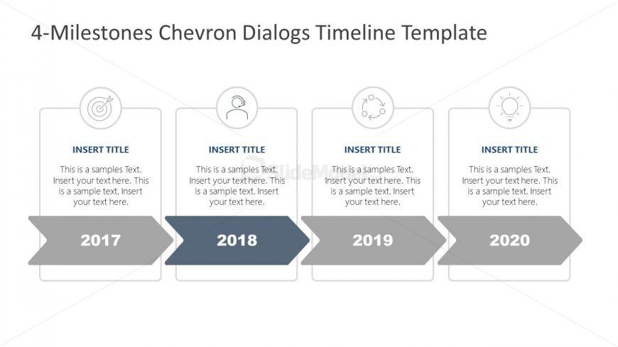 Editable Chevron PowerPoint Diagram