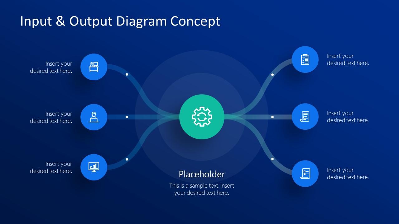 Input Output Infographic Presentation